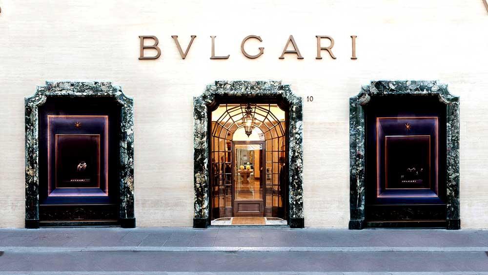 Bulgari Jewelry Store