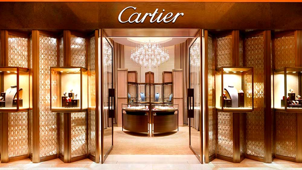 Cartier Store Front