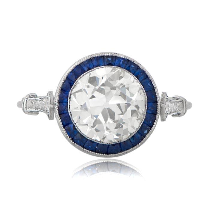 fab7b53184332 2.24ct Estate Engagement Ring