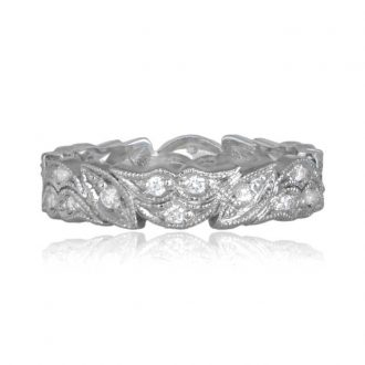 11334 Floral Wedding Band