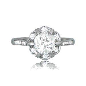 11359 Madrid Halo Engagement Ring
