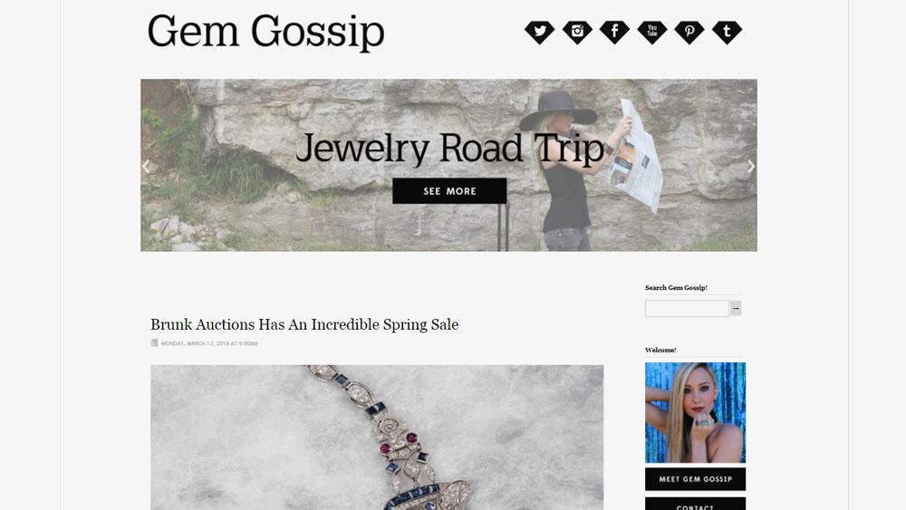 Gem Gossip Screenshot Blog