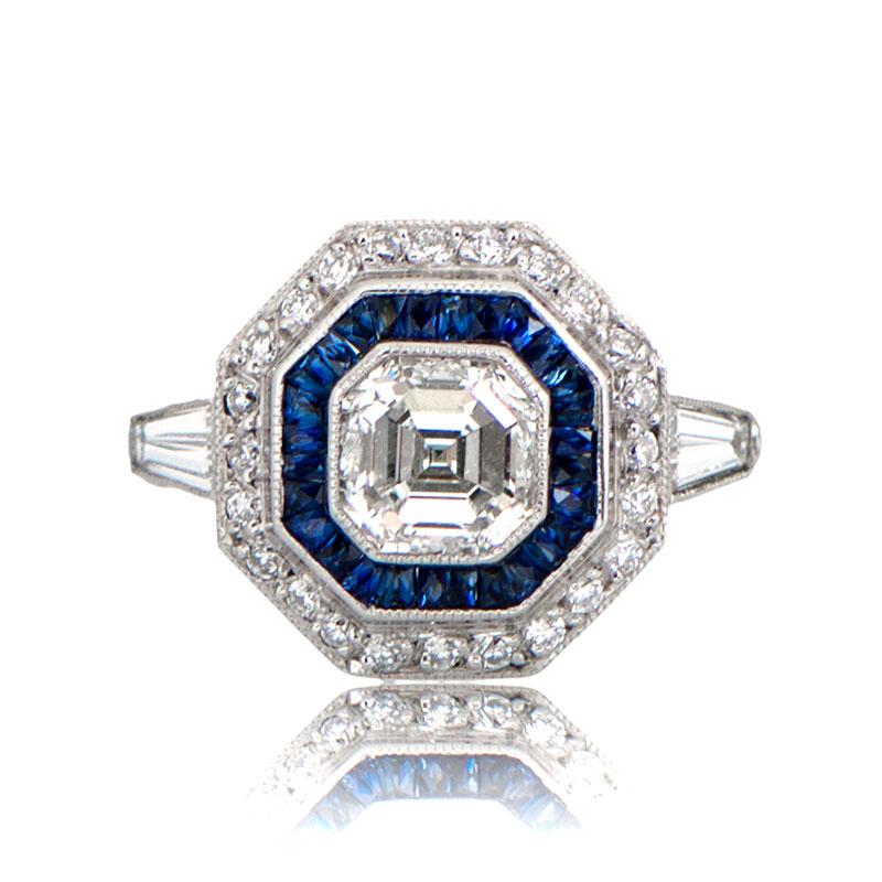 78442db3eb766 Asscher Cut Diamond Engagement Ring