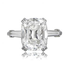 Antique Cushion Cut Diamond Ring