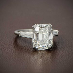 Antique Cushion Cut Old Mine