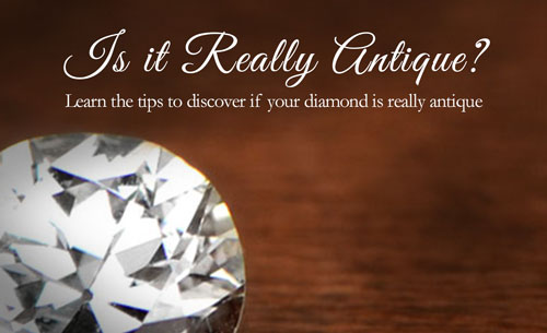 Is diamond really antique