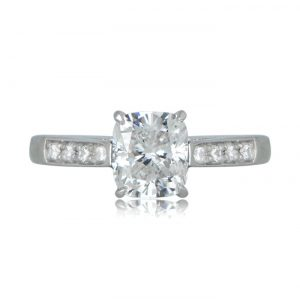 Estate Tiffany and Co Engagement Ring