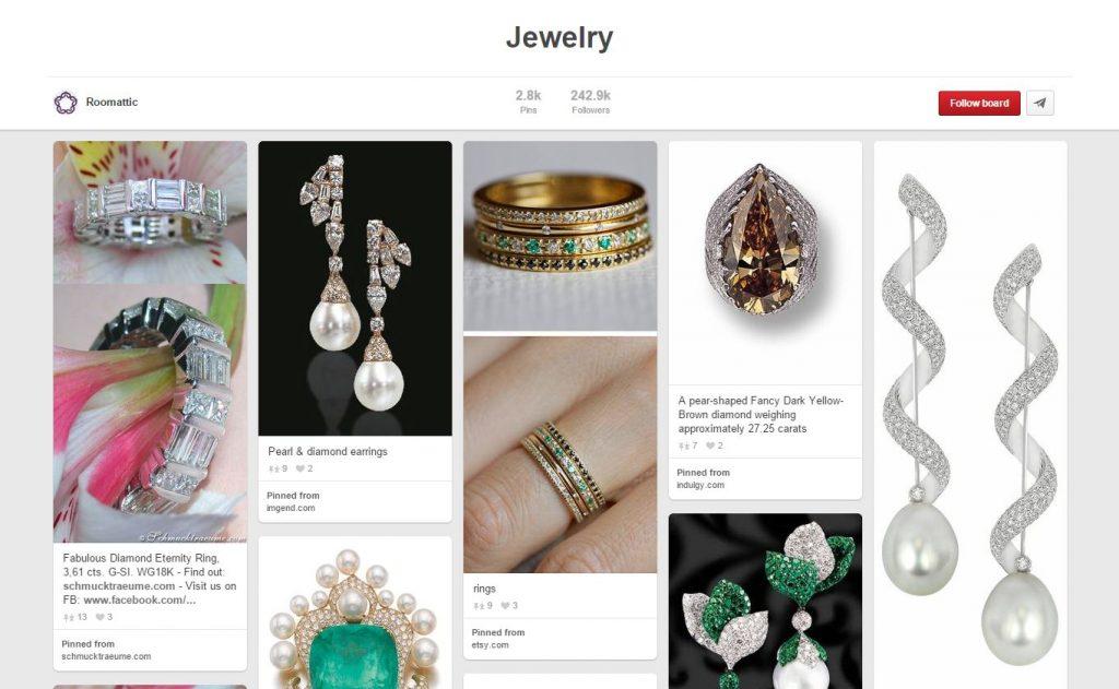 Roomattic Jewelry Pinterest