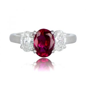 Pigeon Blood Ruby Ring