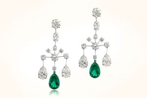 Emerald-and-Diamond-Chandelier-Earrings