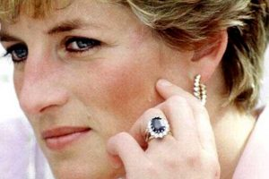 Princess Diana Halo Ring