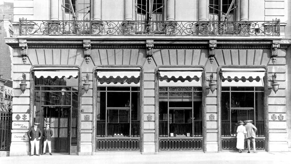 Cartier Store in New York 1920