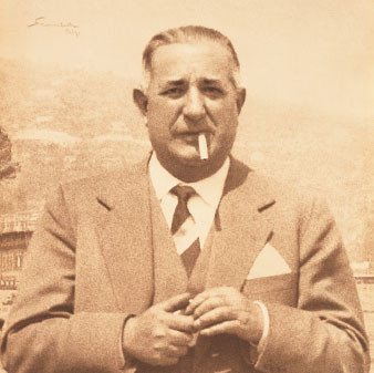 Famous jewelry designer Mario Buccellati