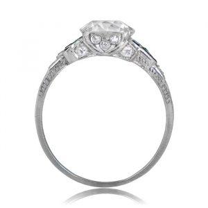 Low Profile Vintage Ring