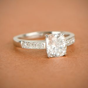 Estate Tiffany Engagement Ring