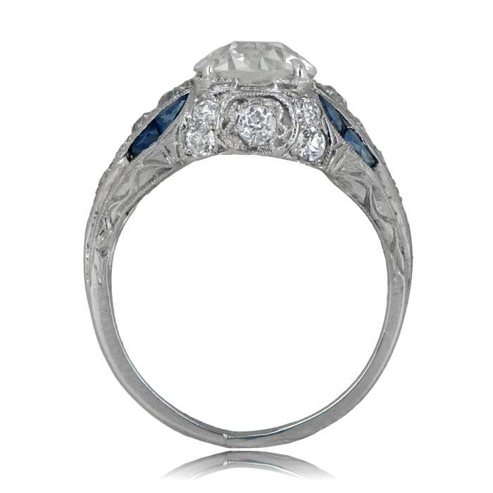 d931a8258151d Art Deco Engagement Ring. Circa 1925