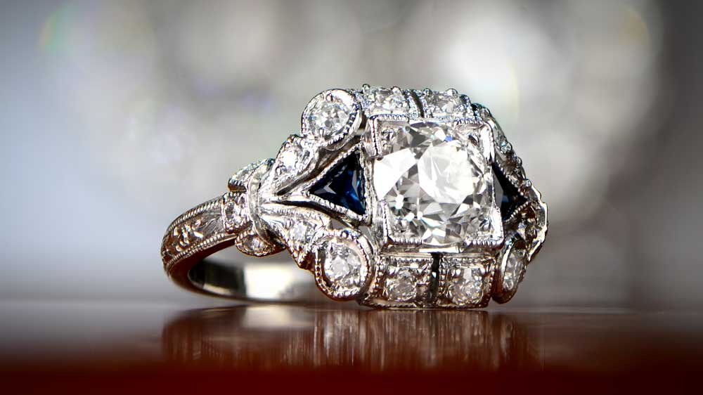 An example of an Upgrade Engagement Ring