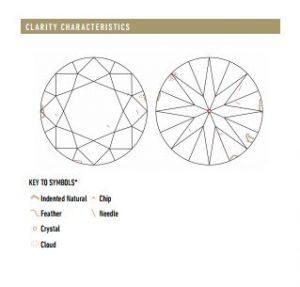 GIA Inclusion Clarity Characteristics
