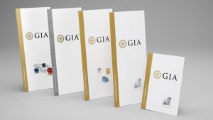 Picture of the GIA certifications