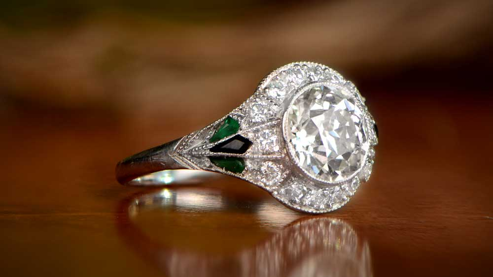 Vintage Ring Art Deco Style