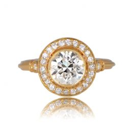 Bologna Engagement Ring Front View