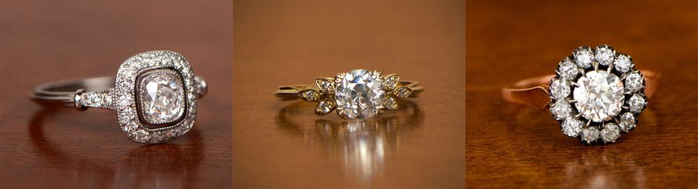 White Gold Vs Yellow Gold Vs Rose Gold Estate Diamond Jewelry