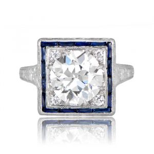 Conflict Free Engagement Rings Estate Diamond Jewelry