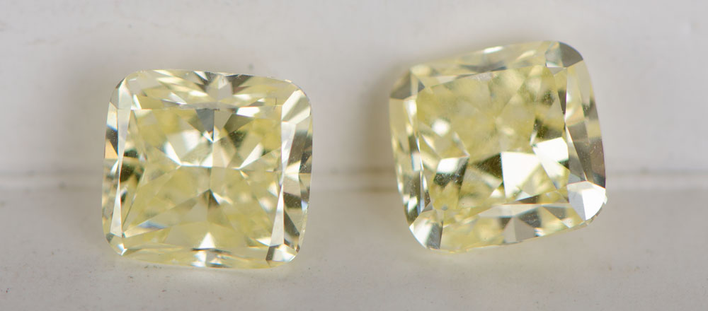 Loose Yellow Diamonds