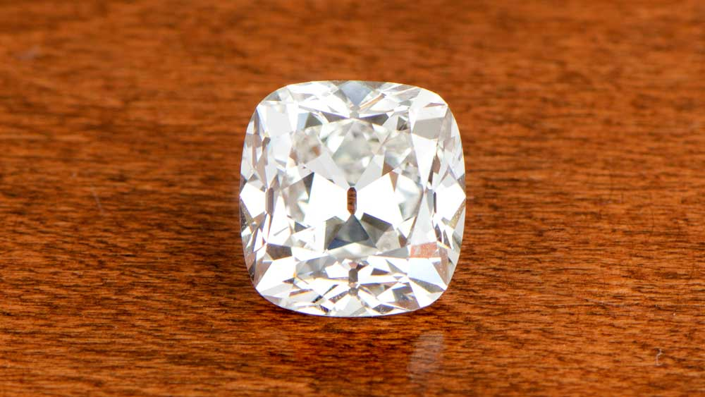 Old Mine Cushion Cut Diamond
