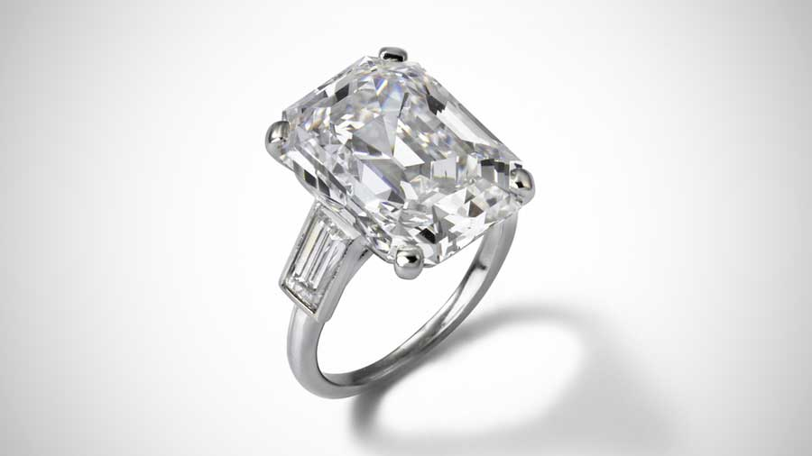 Grace Kelly Engagement Ring Solitaire Style