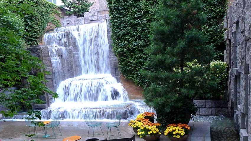 Greenacre Park in New York