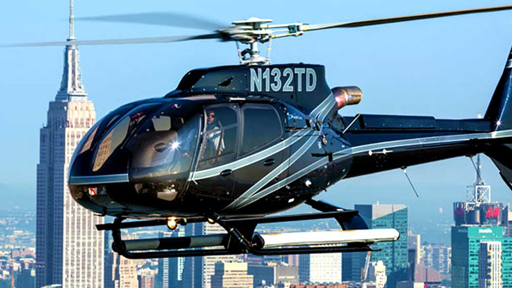 Helicopter Proposal Ride over NYC