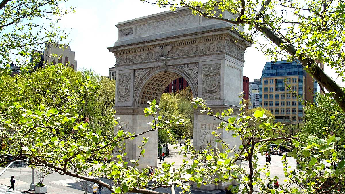 Washington Square Park NY New York