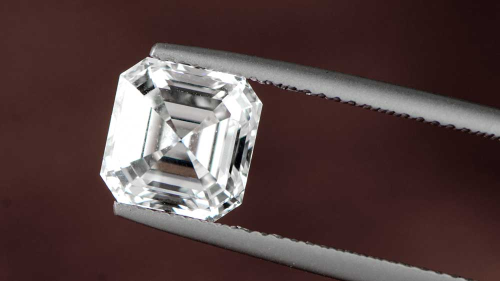 3 Carat I Color Asscher Cut Diamond