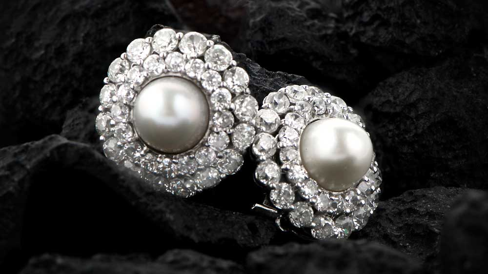 Antique Natural Pearl Earrings