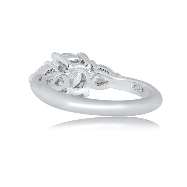 Accent Pear Pear Shape Tiffany Tiffany Accent Shape Ring Tiffany Ring PXkuOZiT