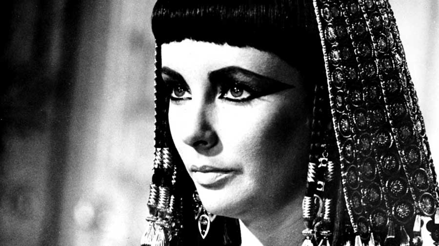 Elizabeth Taylor in Movie Cleopatra