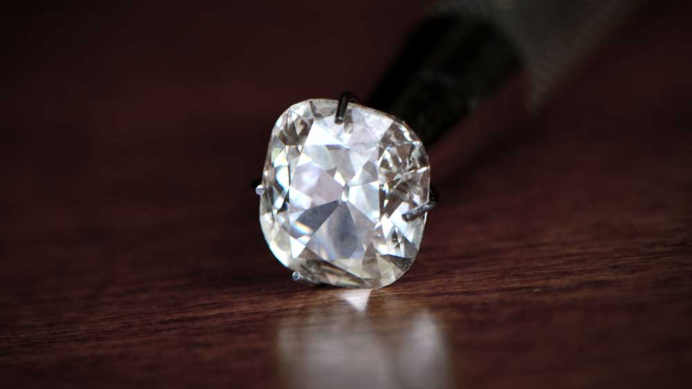 Triple X Cushion Cut Diamond