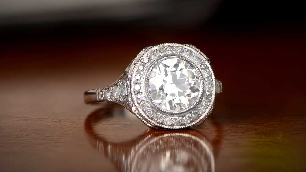 Vintage Ring for Proposal