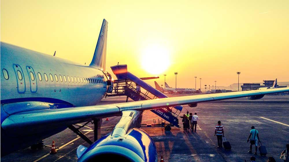 International Travel Airplane