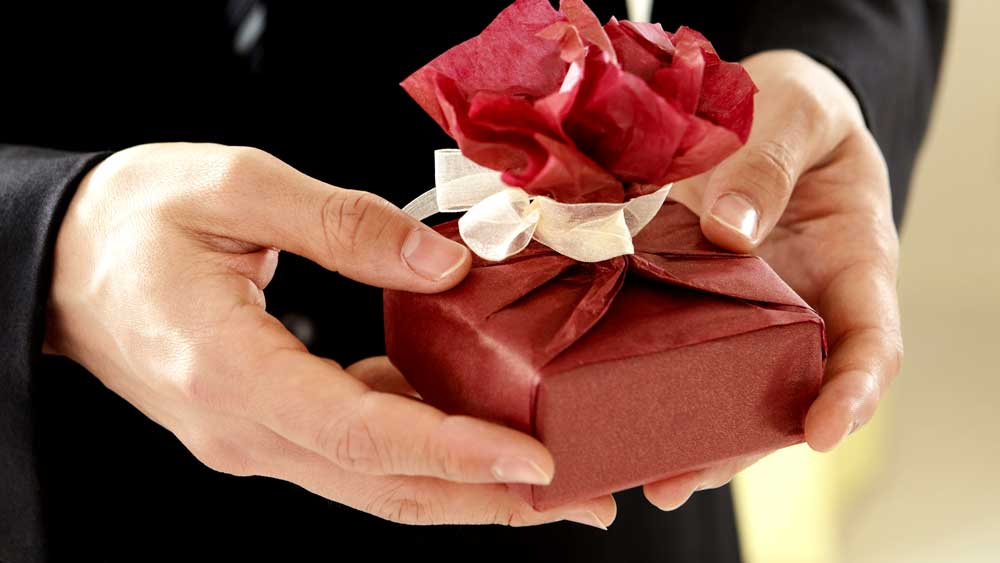 Gift giving for engagement