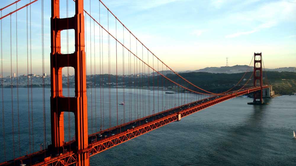 Golden Gater Bridge SF