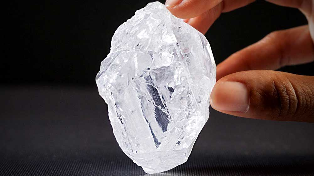 Large Rough Diamond