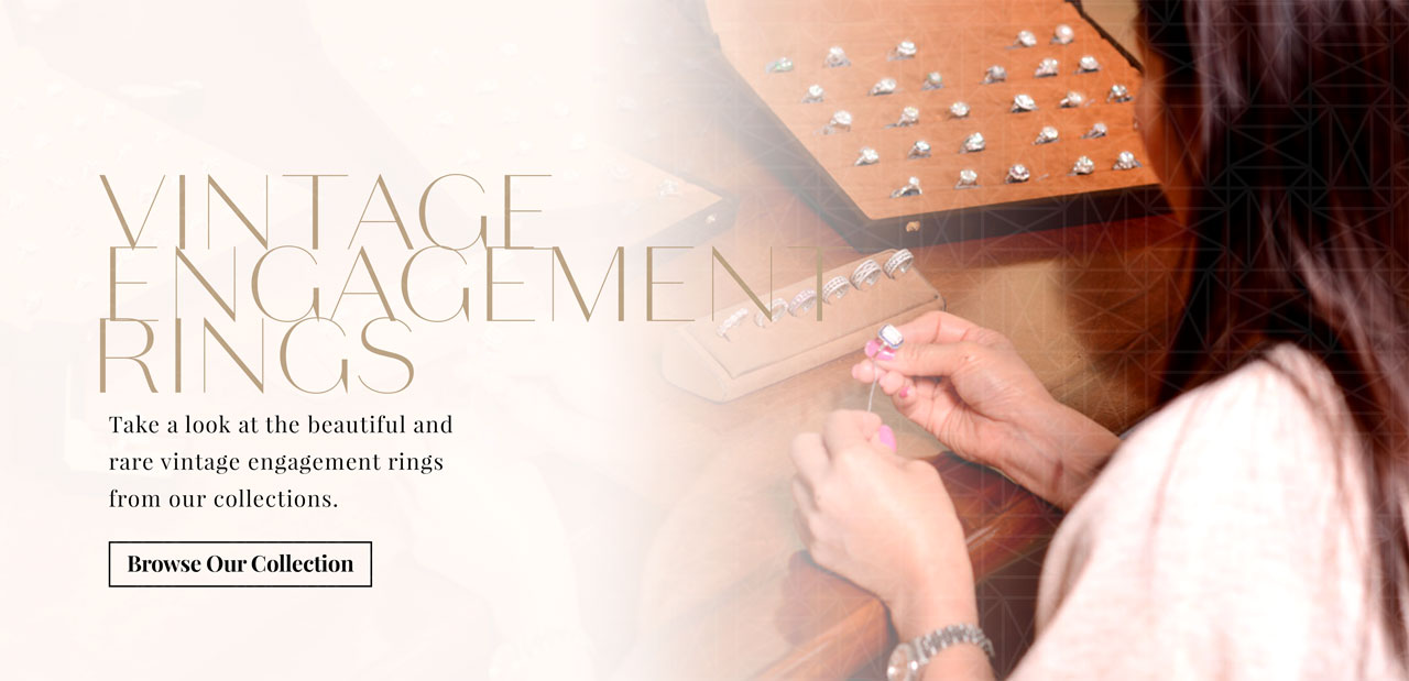 Vintage Engagement Rings Web Banner
