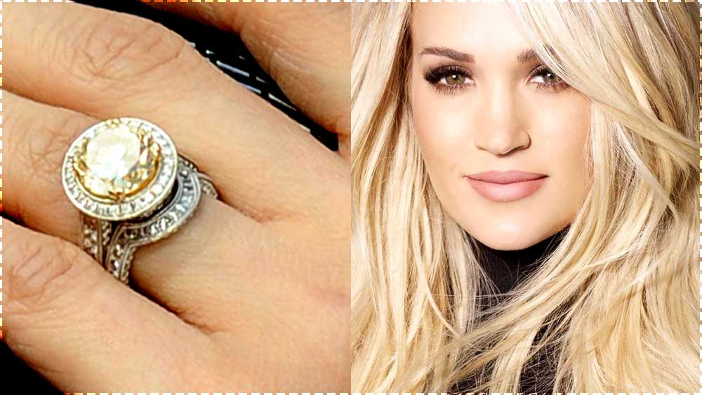 carrie underwood engagement ring