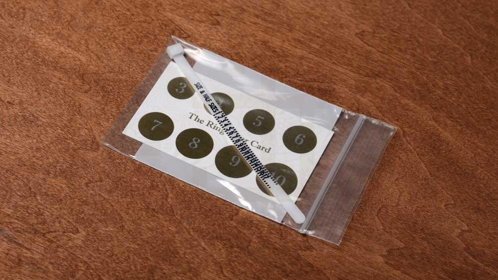 Blog Ring Sizer Kit in Bag