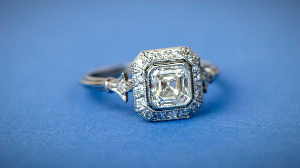 11538 Asscher Ring 9800