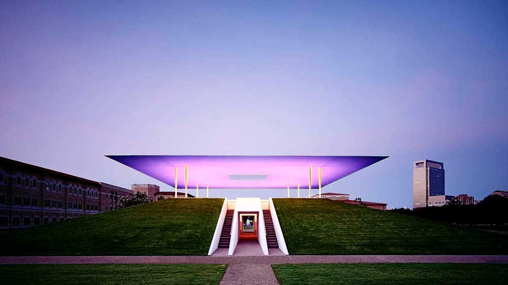 James Turrell Twilight Epiphany Skyspace