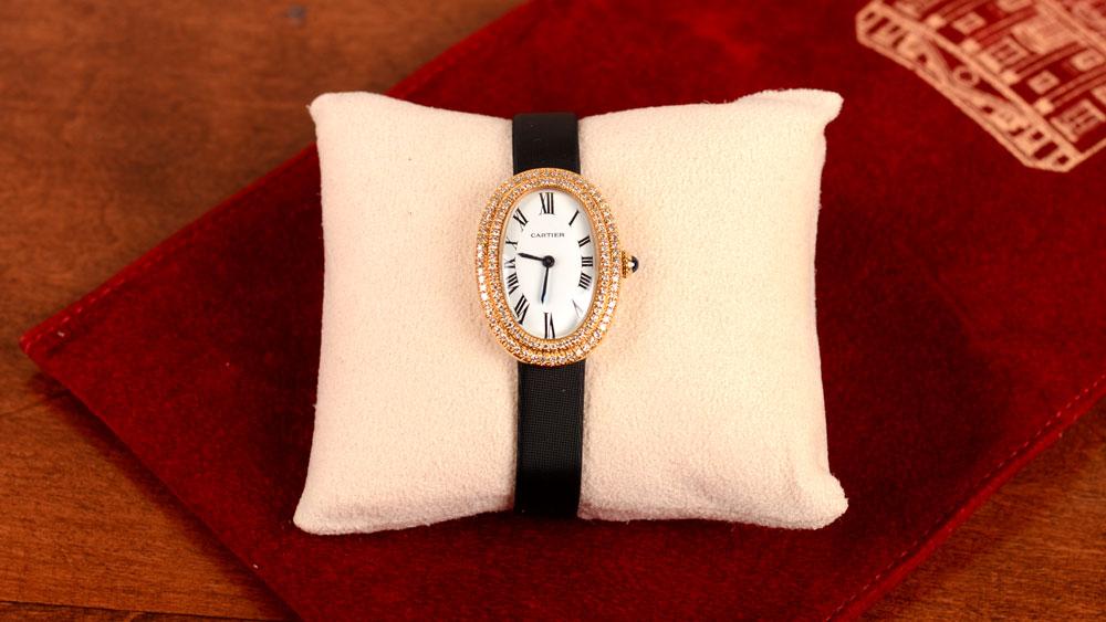 Cartier-Diamond Watch-Artistic