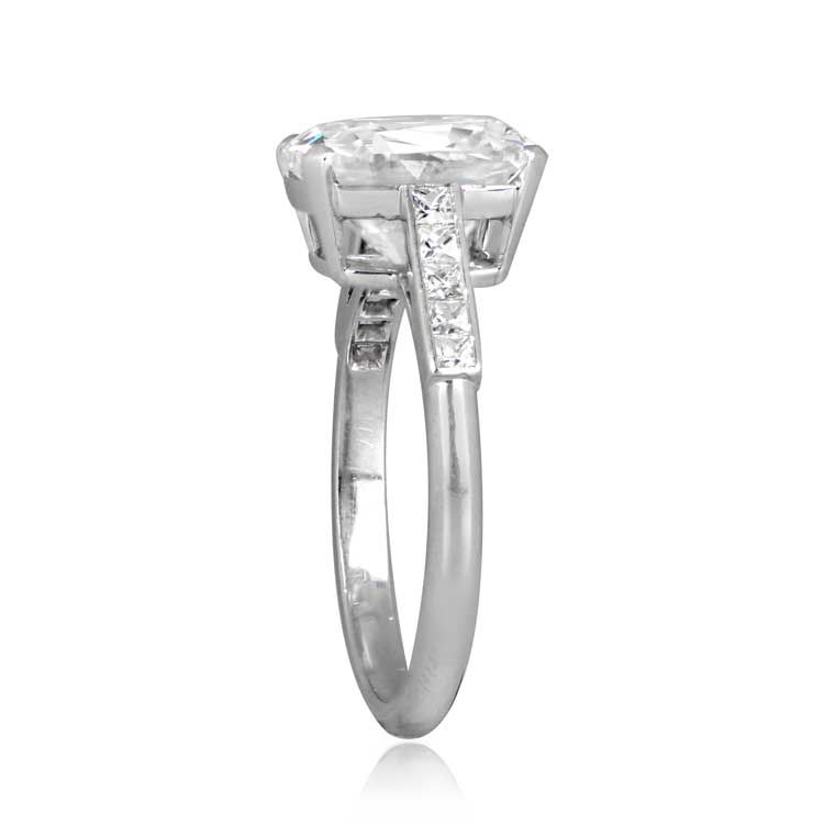 4 13 Carat Cushion Cut Ring